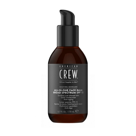 Nawilżający balsam do twarzy American Crew All in One Face Balm SPF15 170 ml