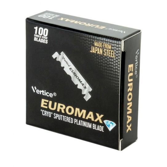 Połówki żyletek Euromax 100 Single Edge Razor Blades 100 szt.