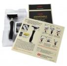 Maszynka do golenia na żyletki Feather Adjustable DER-A Safety Razor 2