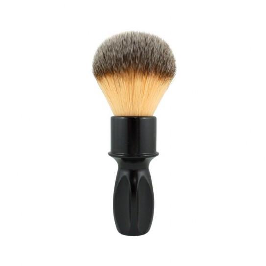 Pędzel do golenia Razorock Glossy Black 400 Plissoft Shaving Bush