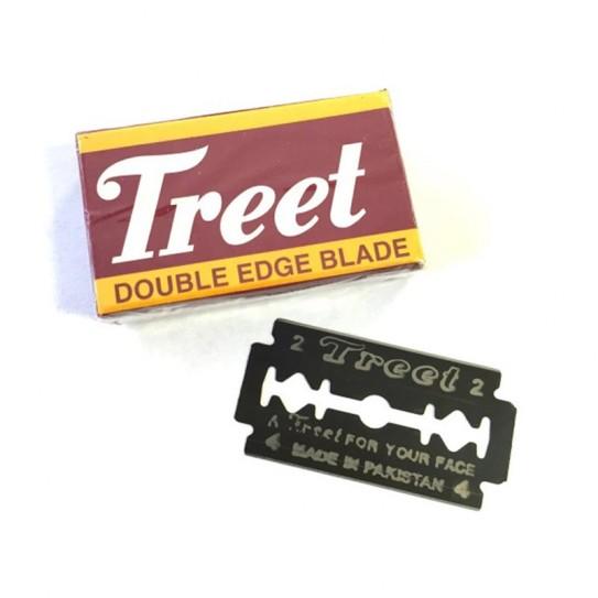 Żyletki Treet Carbon Black Steel Stainless 10 szt