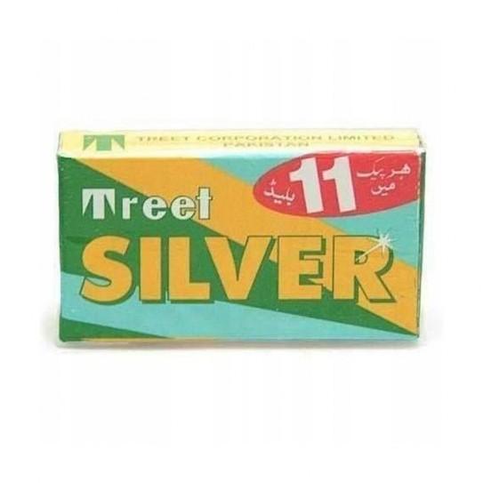 Żyletki Treet Silver Stainless Blade 11 szt