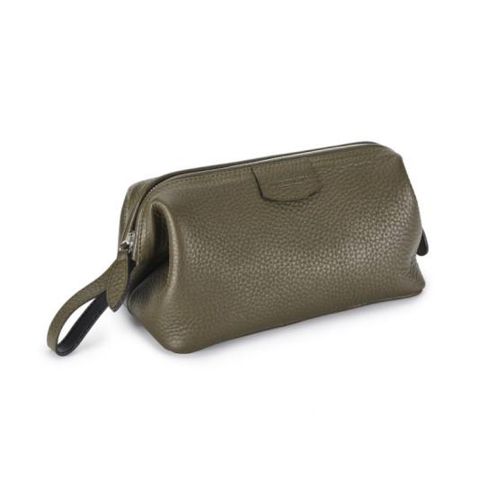 Kosmetyczka męska Truefitt & Hill Gentelman's Wash Bag Green