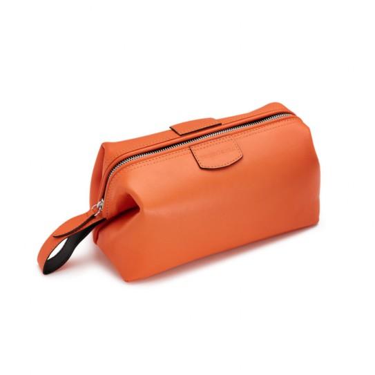 Kosmetyczka męska Truefitt & Hill Gentelman's Wash Bag Orange