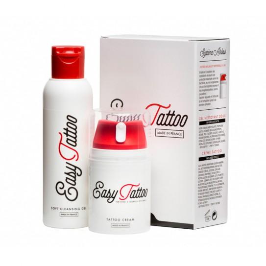 Zestaw do tatuażu Easy Tattoo 50 ml KREM + 125 ml ŻEL