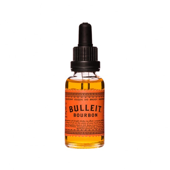 Olejek do brody Pan Drwal Bulleit Bourbon 30ml