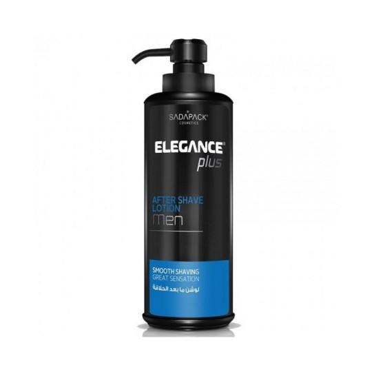 """Lotion po goleniu Elegance Plus After Shave """"Odświeżający"""" 500 ml"""