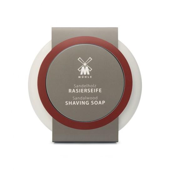 Mydło do golenia Muhle Sandalwood Shaving Soap And Porcelain Shaving Bowl 65 g