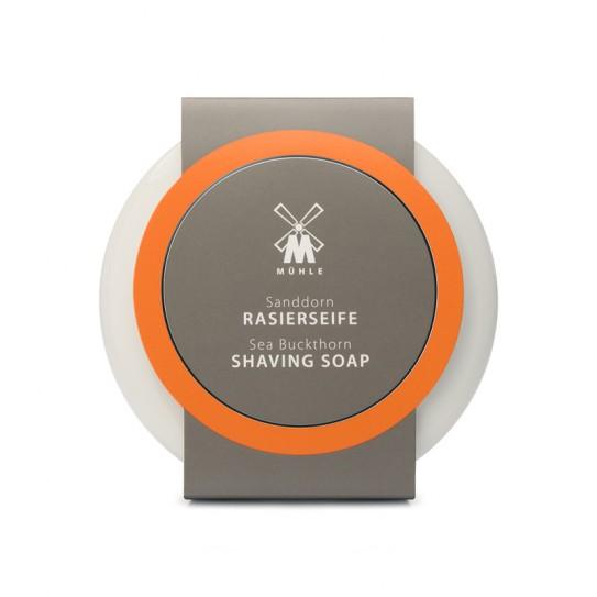 Mydło do golenia Muhle Sea Buckthorn Shaving Soap And Porcelain Shaving Bowl 65 g