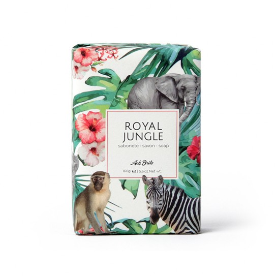 Mydło toaletowe Ach. Brito Royal Jungle Soap 160 g