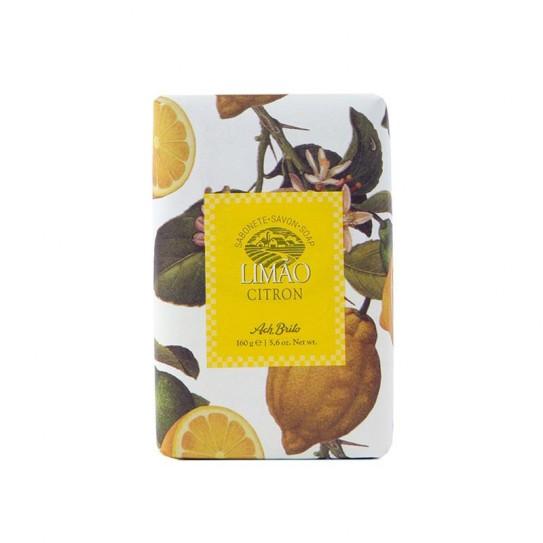 Mydło toaletowe Ach.Brito Lemon Soap 160 g (Cytryna)