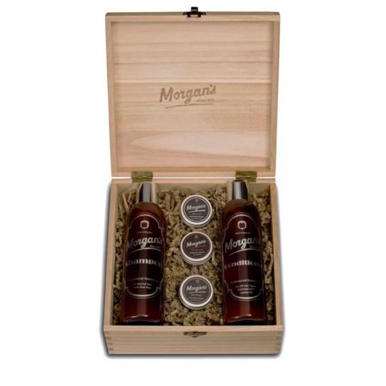 Zestaw do włosów Morgan's Shampoo and Style Box M203