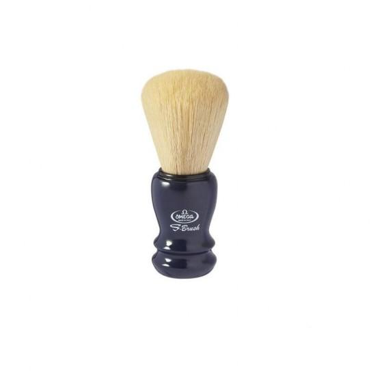 Pędzel do golenia Omega S-Brush S 10108 syntetyczny Niebieski