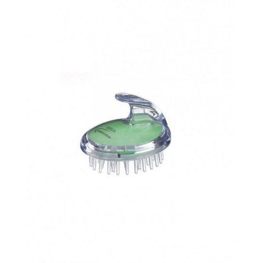 Szczotka do masażu skóry głowy Kent Sh1 Green
