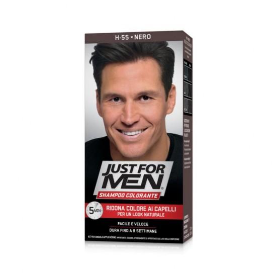 Szampon koloryzujący Just for Men Coloring Shampoo Black H-55