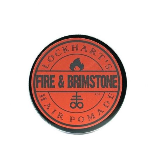 Pomada do stylizacji włosów Lockhart's Fire & Brimstone Heavy Hold Pomade 113 g