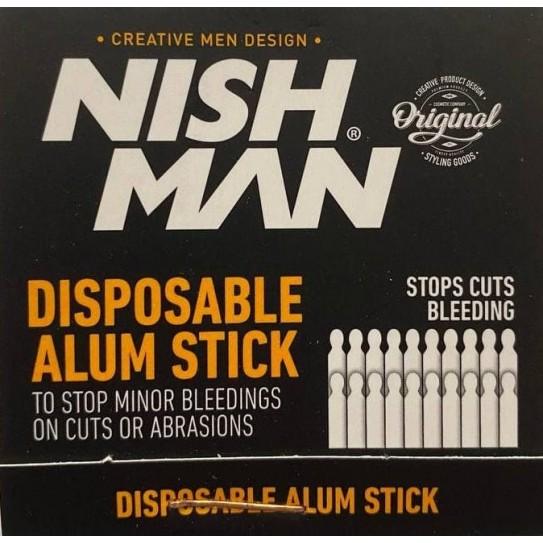 Patyczki na skaleczenia Nishman Disposable Alum Stick 20szt