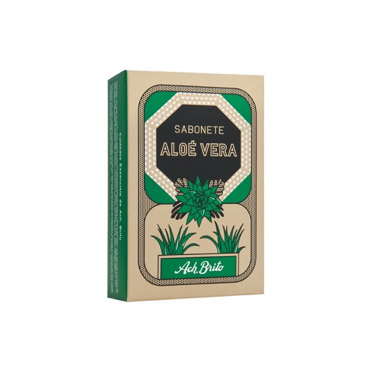 Mydło Ach Brito Aloe Vera 90 g z ekstraktem z aloesu