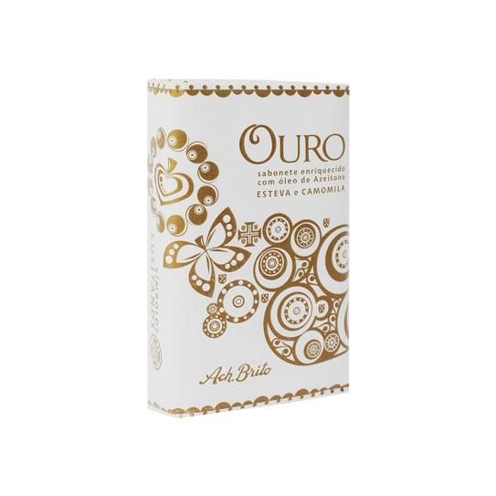Mydło Ach Brito Lusitano Ouro 75 g z Różą i Rozmarynem