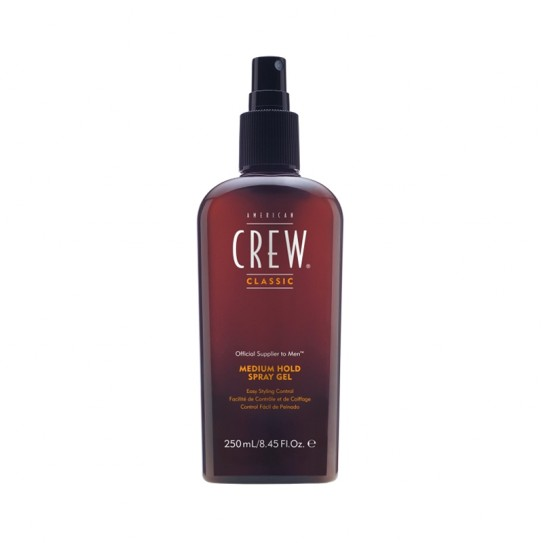 Spray-żel do włosów American Crew Medium Hold Spray Gel 250ml o średnim chwycie