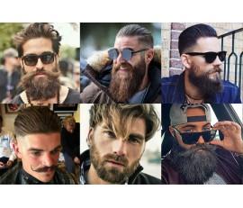 Style brutalnej brody dla mężczyzn, którzy pragną zmian