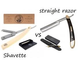 Brzytwa tradycyjna VS Shavette — którą wybrać?