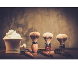 Jak prawidłowo używać pędzla do golenia?