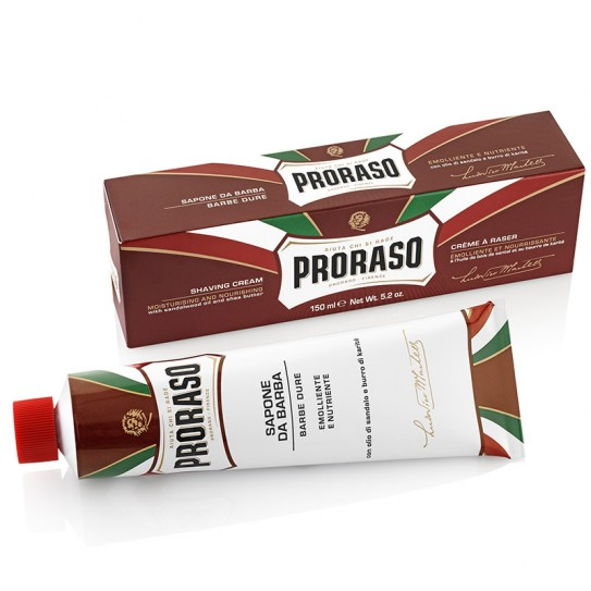 Krem do Golenia Proraso do twardego zarostu z Masłem Shea 150 ml (New Version)