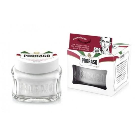 Krem przed goleniem Proraso do skóry wrażliwej 100 ml (New Version)