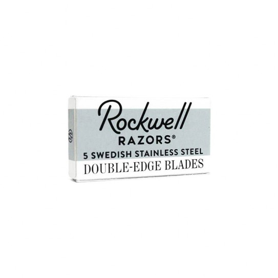 Żyletki Rockwell Double-Edge Razor Blades 5 szt.