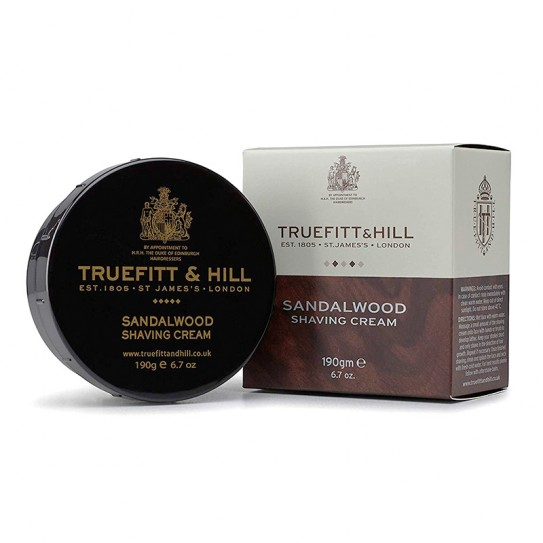 Krem do golenia Truefitt & Hill Sandalwood Shaving Cream 190 g