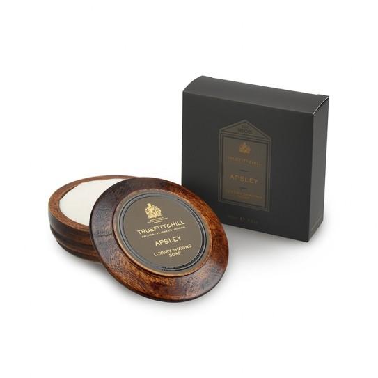 Mydło do golenia w drewnianym tyglu Truefitt & Hill Apsley Shaving Soap 99 g