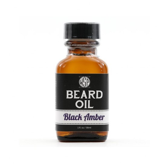 Olejek do brody WSP Black Amber Beard Oil 30 ml