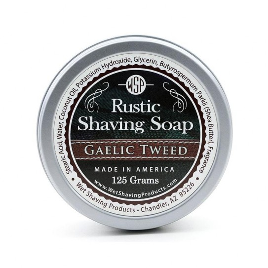 Mydło do golenia Wsp Rustic Shaving Soap Gaelic Tweed 125 g