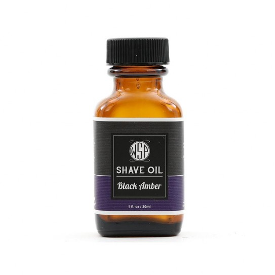 Olejek przed i po goleniu WSP Pre&Post Shave Oil Black Amber Vanille 30 ml