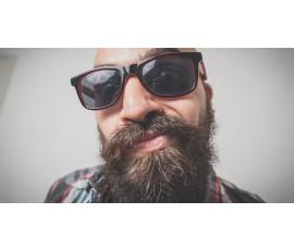 Nierównomiernie rośnie broda