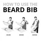 Fartuch do podcinania brody Rockwell Beard Bib 9