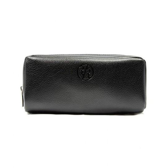 Kosmetyczka podróżna Rockwell Genuine Leather Dopp Kit