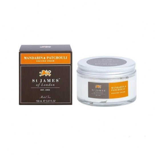 Krem do Golenia St. James of London Mandarin & Patchouli 150 ml