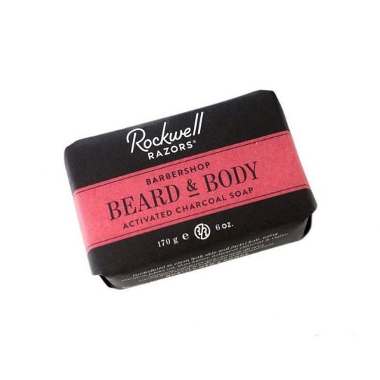 Mydło do brody i ciała Rockwell Beard and Body Bar Soap 170 g