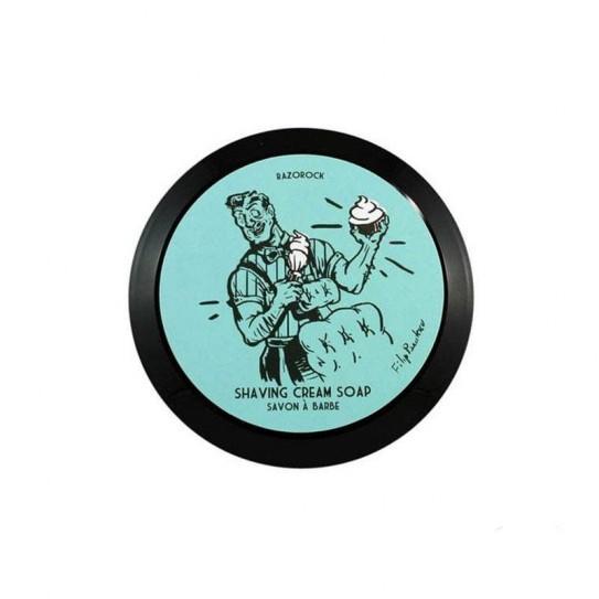 Mydło do golenia RazoRock Blue Barbershop Shaving Cream Soap 150Ml