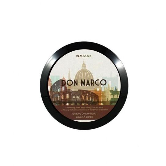 Mydło do golenia Razorock Don Marco Shaving Cream Soap 150 ml