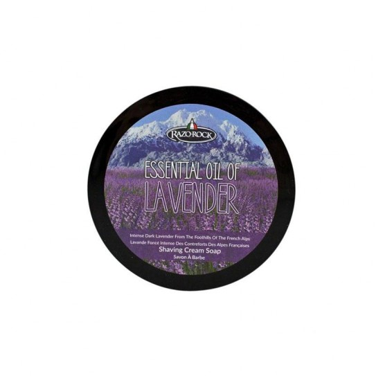 Mydło do golenia Razorock Essential Oil of Lavender Shaving Cream Soap 125 ml