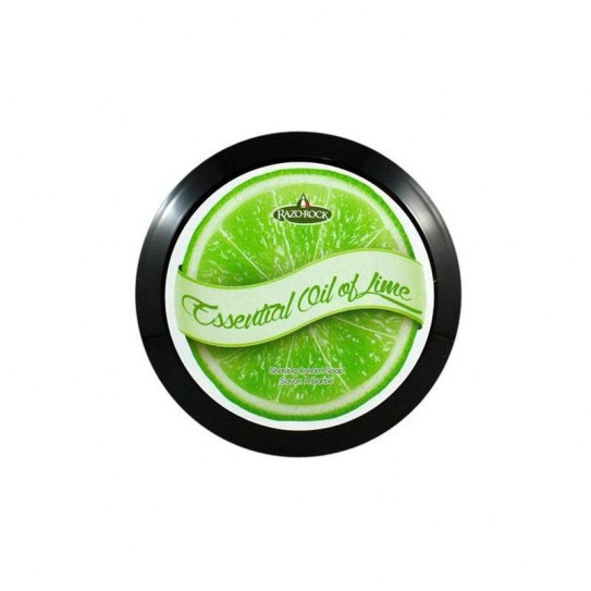 Mydło do golenia Razorock Essential Oil of Lime Shaving Cream Soap 150 ml