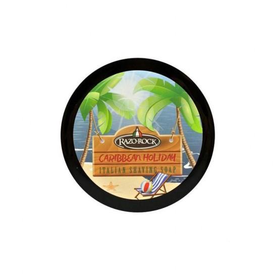 Mydło do golenia Razorock For Caribbean Holiday Shaving Cream Soap 150 ml