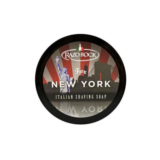 Mydło do golenia Razorock For New York Shaving Cream Soap 150 ml