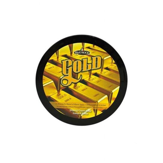 Mydło do golenia Razorock Gold Shaving Cream Soap 150Ml