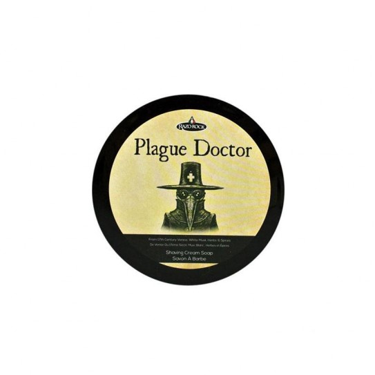 Mydło do golenia Razorock Plague Doctor Shaving Cream Soap 125Ml