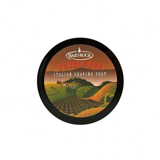 Mydło do golenia Razorock Tuscan Oud Shaving Cream Soap 125Ml