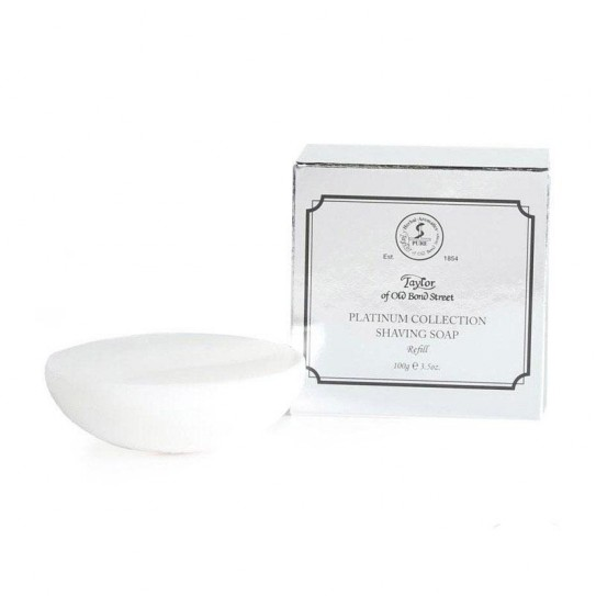 Mydło do golenia Taylor of Old Bond Street Platinum Collection Shaving Soap (Zapasowe) 100 g